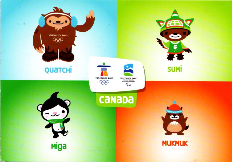 Mascots for Vancouver 2010 Olympics based on native mythology ...