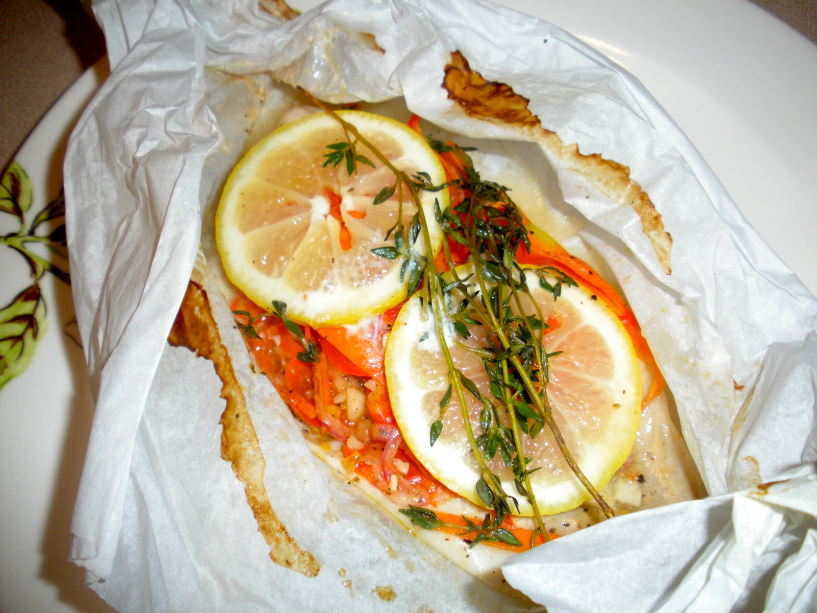 fish en papillote d m r fine foods