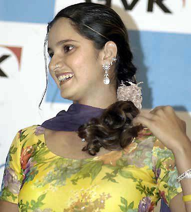 Sania Mirza in Punjabi Suits - Hot Pics