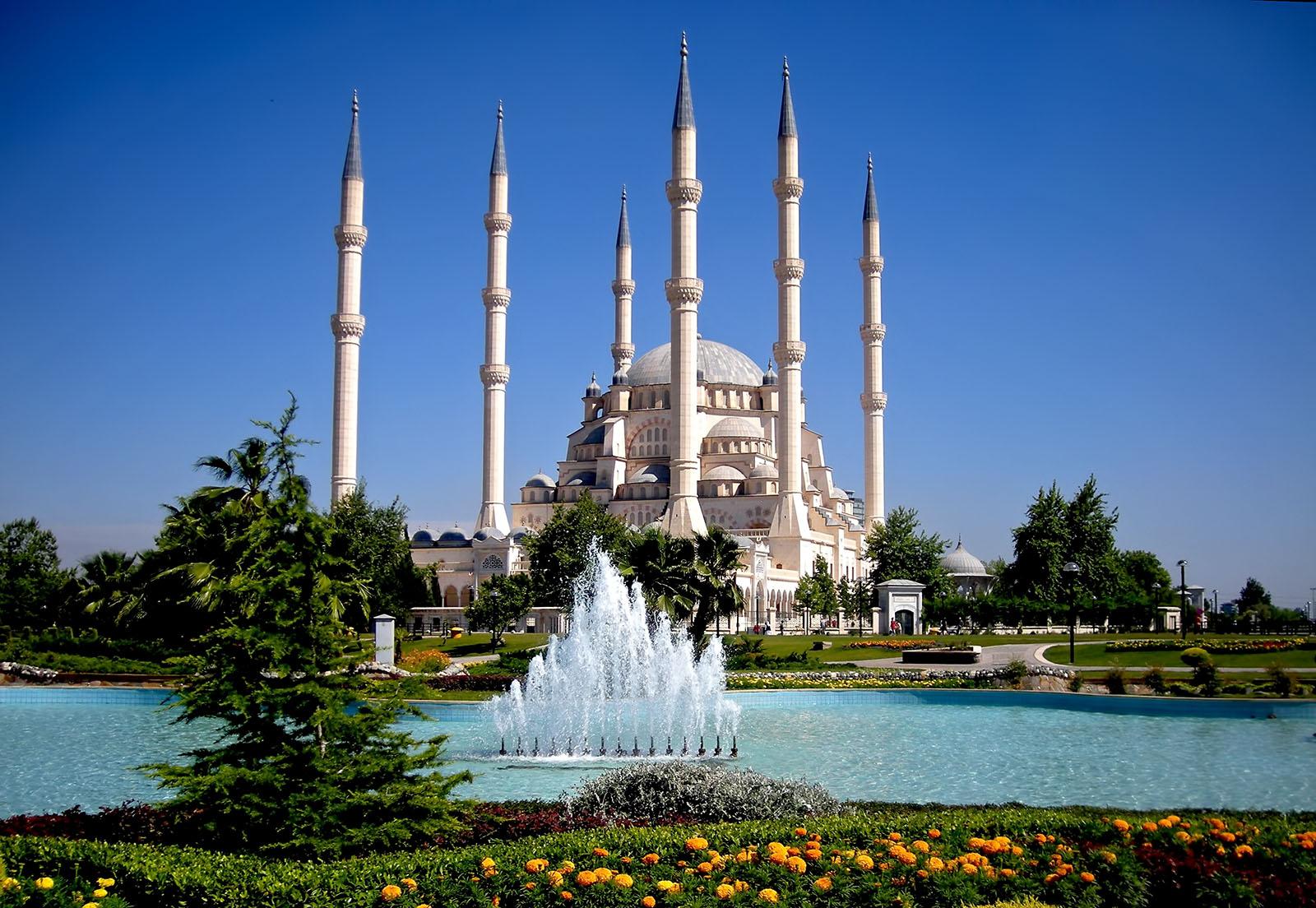 Adana Turkey  city pictures gallery : Album Islam: Sabancı Merkez Camii Adana, Turkey