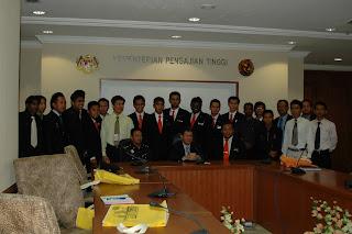 ahli MPP dalam dialog bersama Timbalan Menteri Pengajian Tinggi