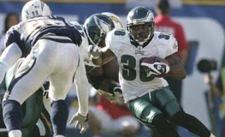 Brian Westbrook Injury