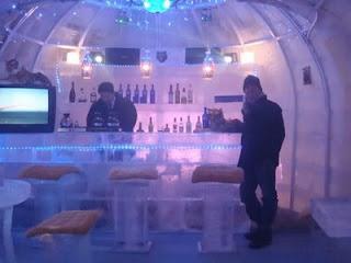 icebar em HarbiN, China