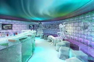 icebar em NCL Cruise Ships