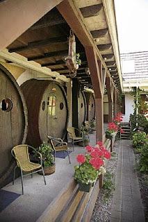 Hotel Feito de Barris De Vinho