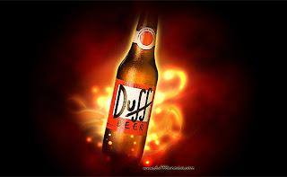 Duff Beer, a cerveja de Homer Simpson