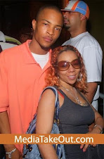 """T.I. and Tiny welcome """"Major Harris"""""""