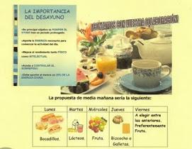 IMPORTANCIA DO ALMORZO NA DIETA DOS NOSOS FILLOS E FILLAS