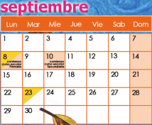 CALENDARIO CAREI con eventos multiculturais