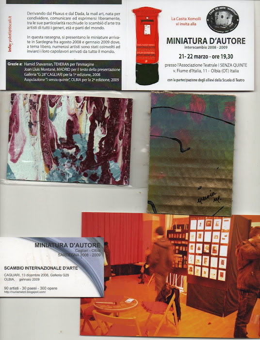 Progetto MiniaturA D'Autore interscambio 2008-2009 la Casita Xomolli