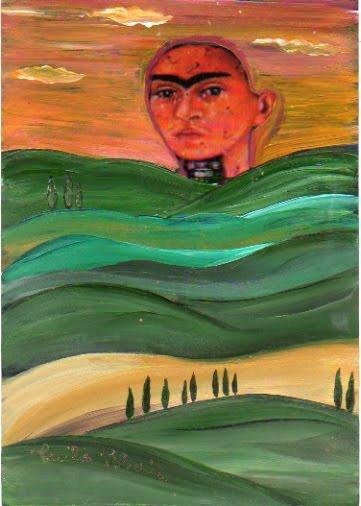 Frida fortecome le montagne e dolce come le crete senesi...