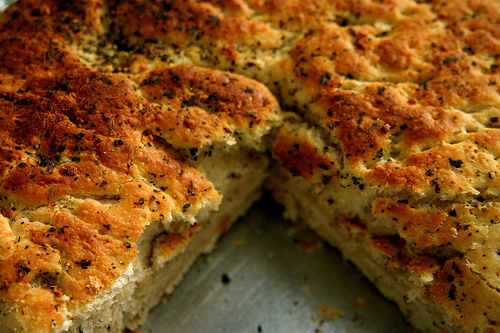 Bake Star Wars For Me: Focaccia and Roasted Garlic
