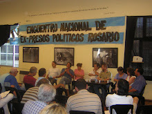 IV Encuentro Nacional Ex-presos polticos-Rosario