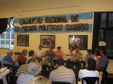 IV Encuentro Nacional Ex-presos políticos-Rosario