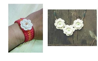 Flores en crochet