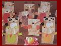 Artesania en papel:sobres para jardin de infantes