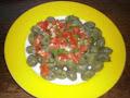 Ñoquis de espinaca con salsa light filetto