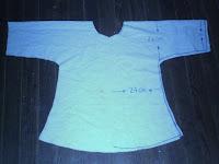 Como hacer una camisola facil y en un solo corte.