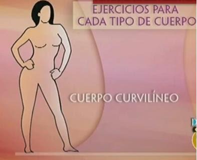 Ejercicios para cada tipo de cuerpo