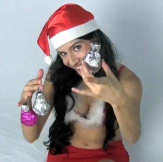 Adornos para navidad con lamparas
