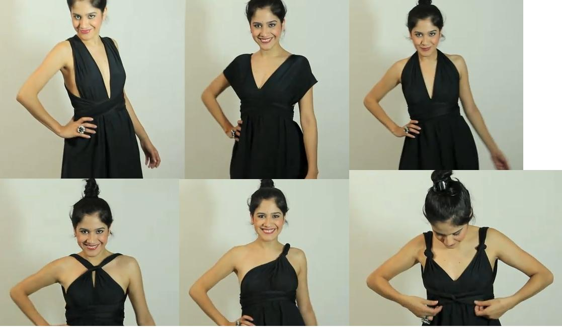 """Como hacer """"el vestido negro"""""""