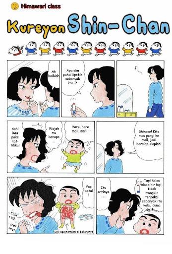 Komik Crayon Shin Chan page 1