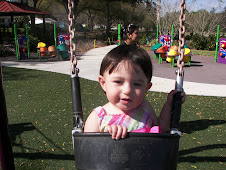 Becky Swinging at the Park