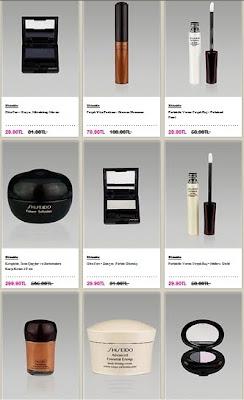 shiseido makyajı makeup