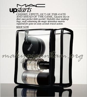 makyaj kozmetik cilt bakımı mac fix cleanse off oil travel kit