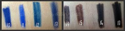 göz kalemi renkleri makyaj kozmetik sırları