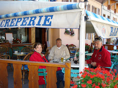 Creperie in French Alps