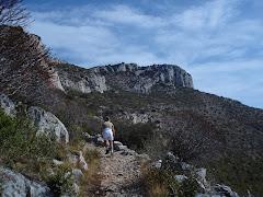 Hiking UP...