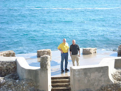 Art and Bill on the Med In Cap d'Ail