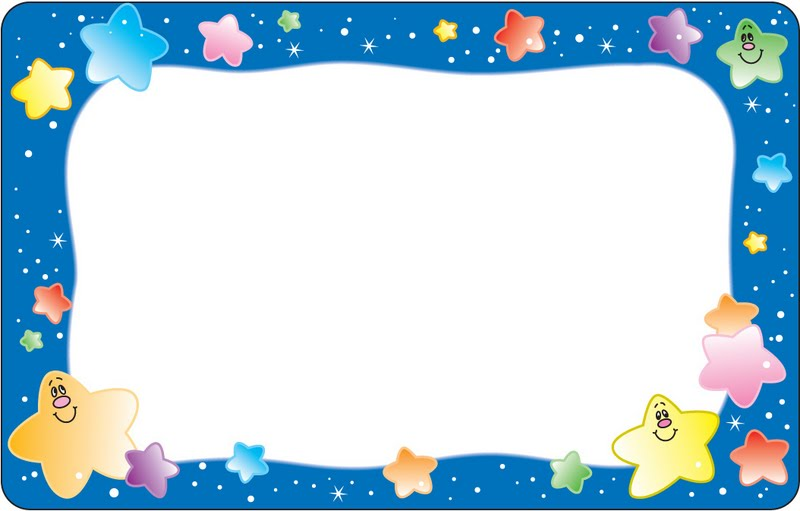 Borde para tarjetas infantiles - Imagui