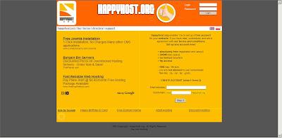 Happyhost free Web Hosting