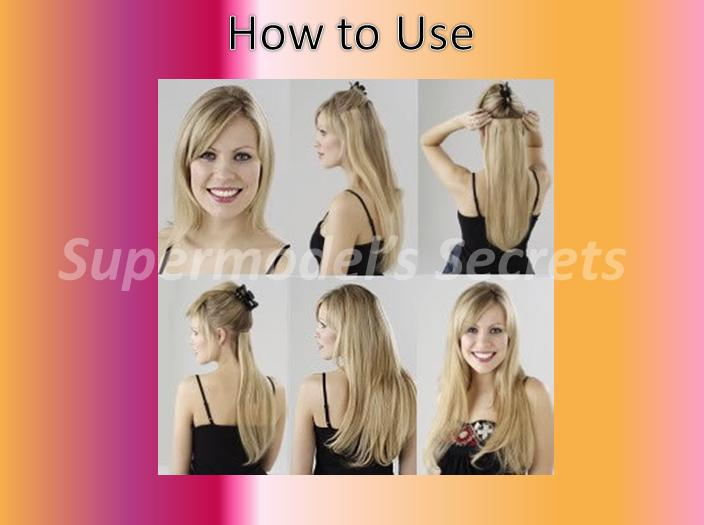 Supermodels Secrets Beauty Blog: Clip On Hair Extensions ...