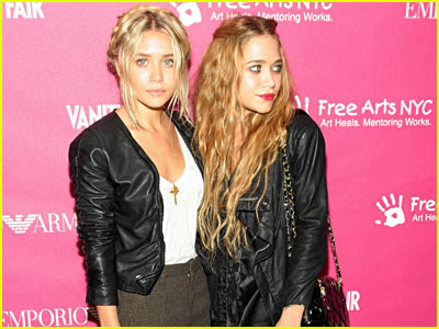 The Olsen twins`