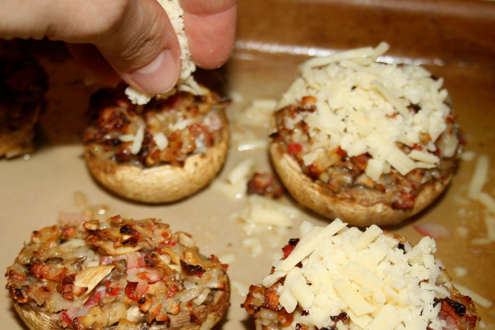 things i like to make crabstuffed mushrooms