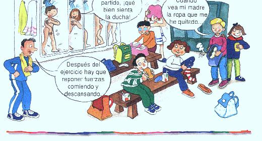 Educación Física V: UNIDAD 2.3: Higiene aplicada a la