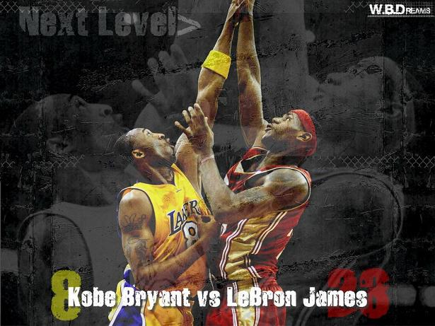 kobe bryant vs lebron james puppets