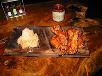 Adobo chicken wings at Poleng Lounge San Francisco