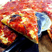 . the fresh from the oven, spicy, meaty, cheesy classic pepperoni pizza?