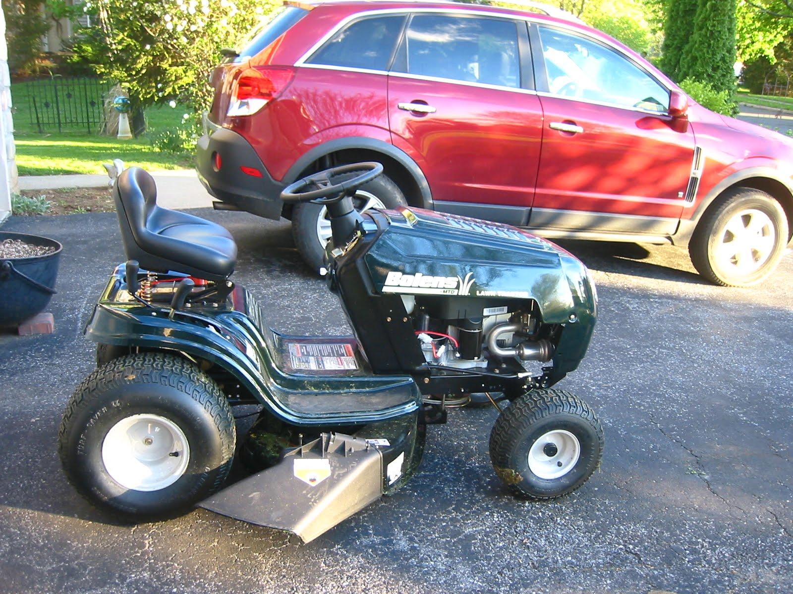 Bolens Bagger Parts : Bolens riding mower