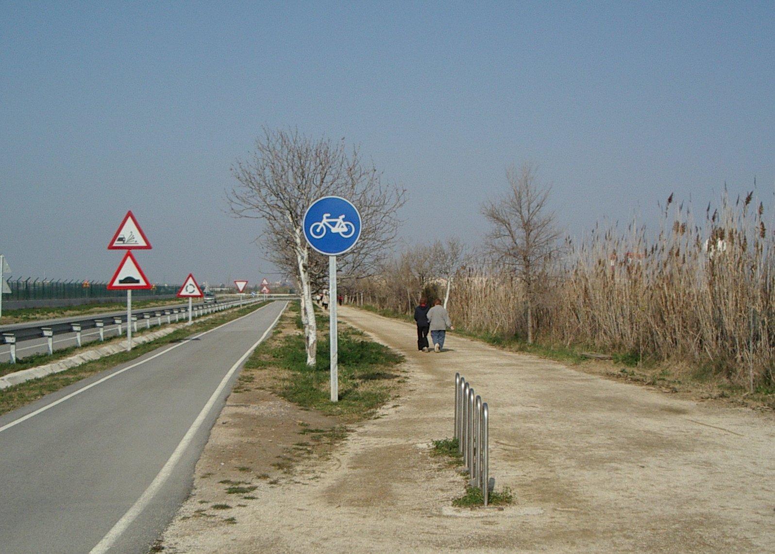 Camí de la platja del Prat