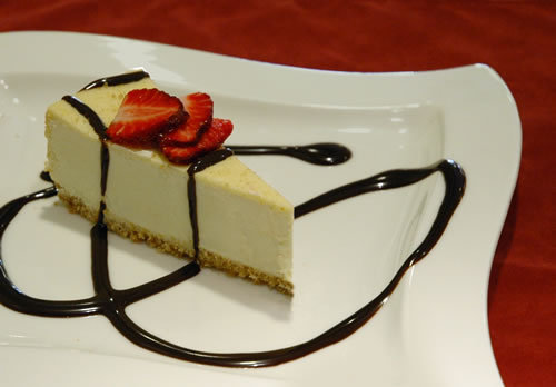 fancy cheesecake 