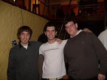 Leo, Germán y Maxi