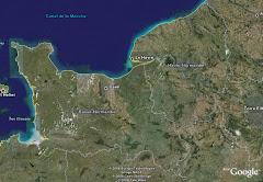 Vista aèria de Normandia