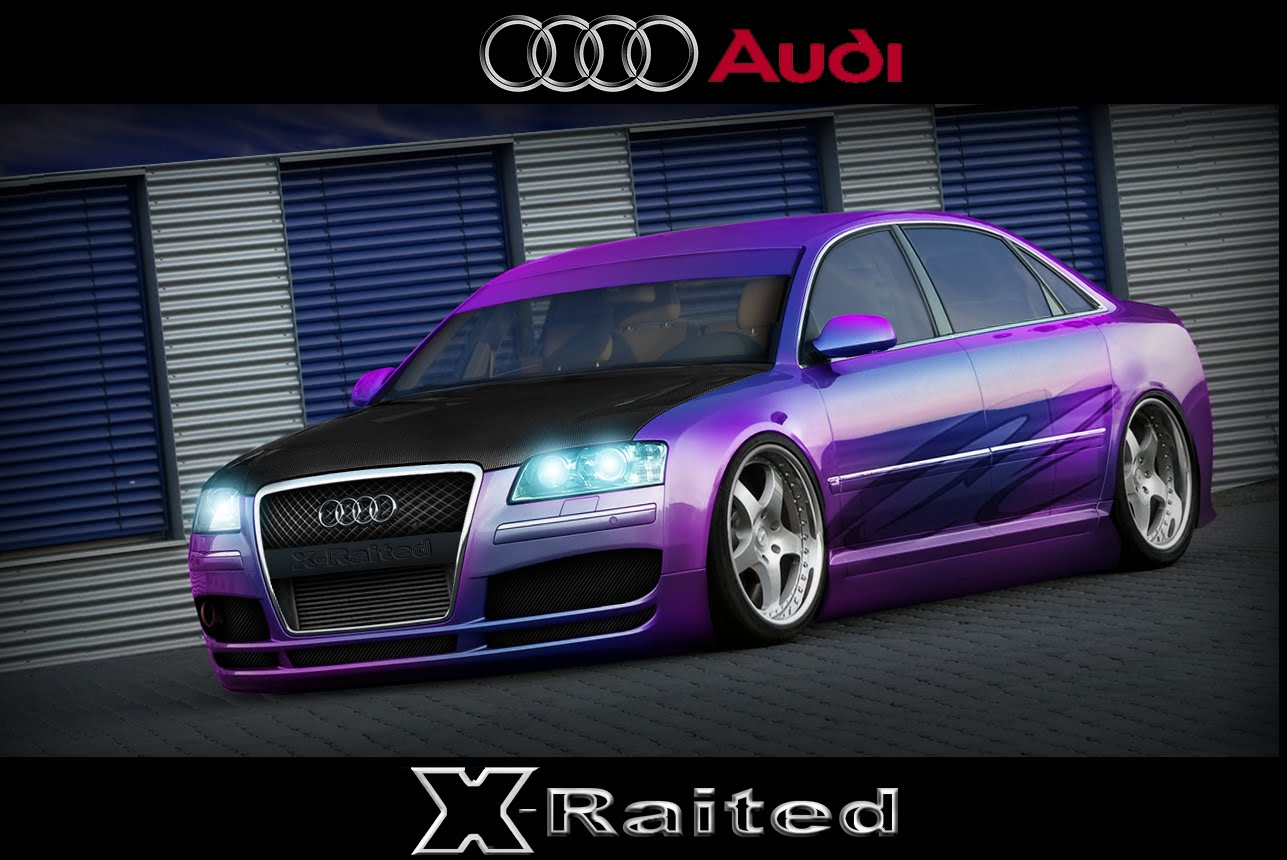 Photoshop Tuning: Audi A8 Tuning