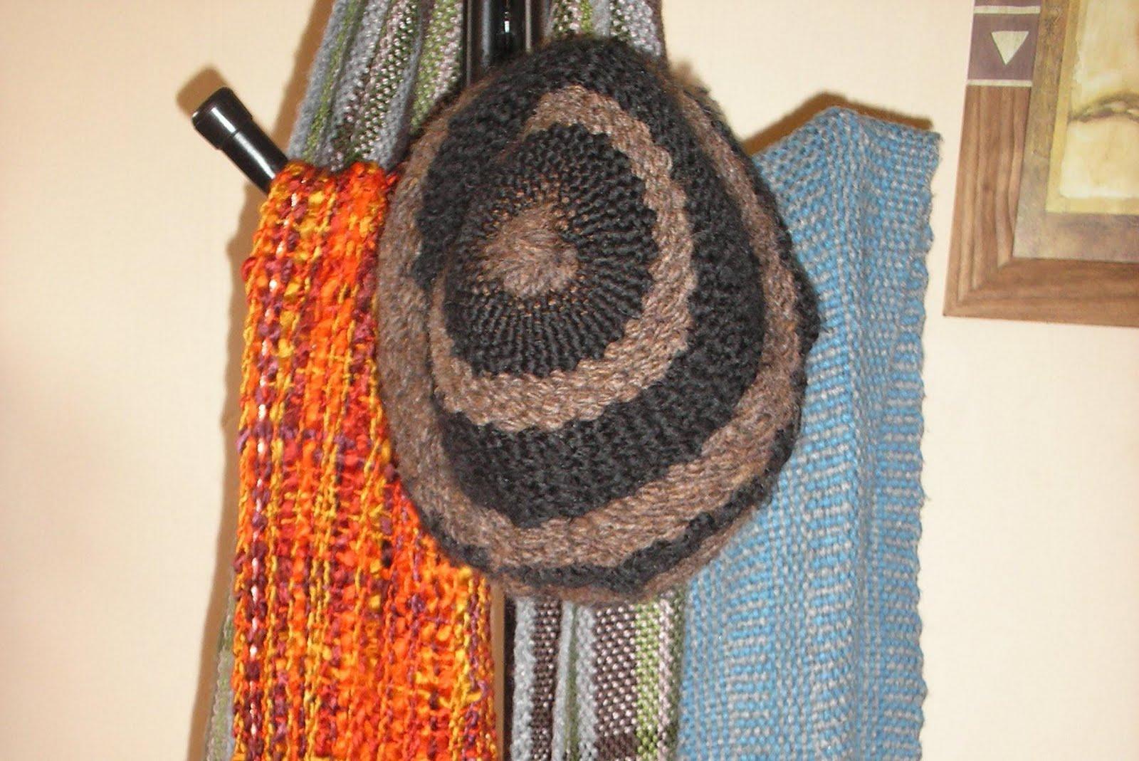 codigo g023 gorros de lana tejidos en dos agujas