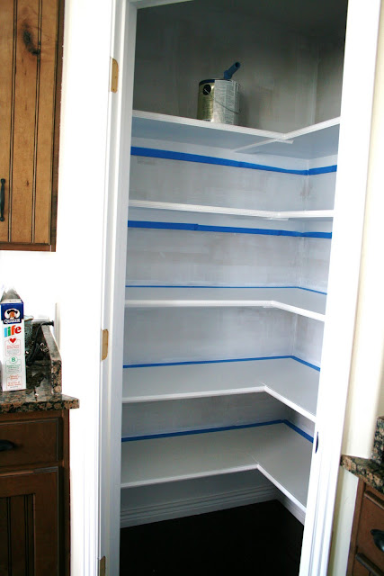 Pantry makeover for Small pantry closet ideas